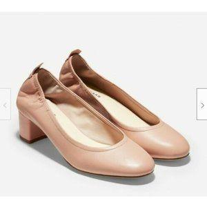 Cole Haan Aviana Leather Pump, Pink, Sz 8.5